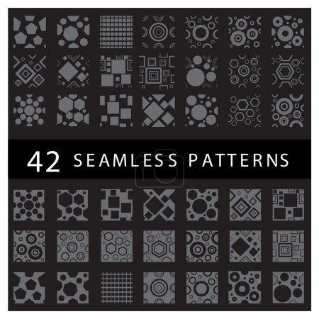 beautiful geometric patterns set