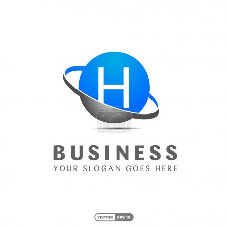 Business company letter H logo