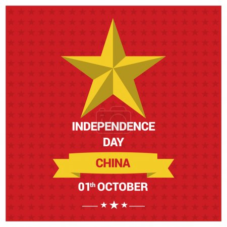 1st October China Independence Day
