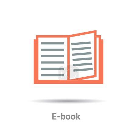 electronic e-book icon