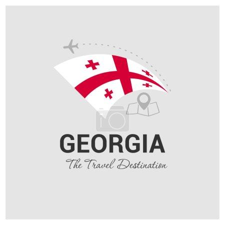 Georgia Travel Logo