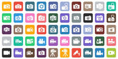 Camera Icon Set Photography icon set