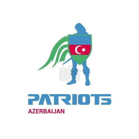 Azerbaijan patriots concept