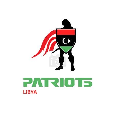 Libya patriots concept