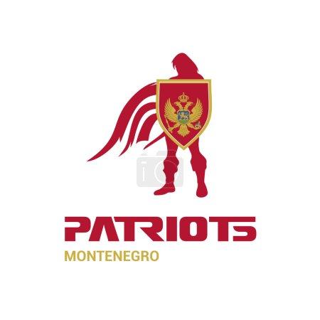 Montenegro patriots concept
