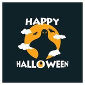 Creative Creepy Halloween Party typography
