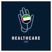 UAE healthcare logo