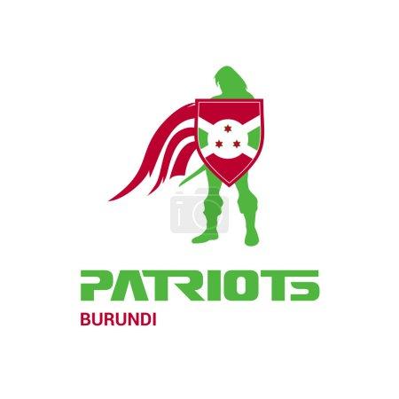 Burundi patriots concept