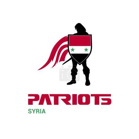 Syria patriots concept