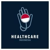 Indonesia healthcare logo
