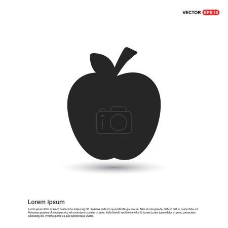 apple fruit icon