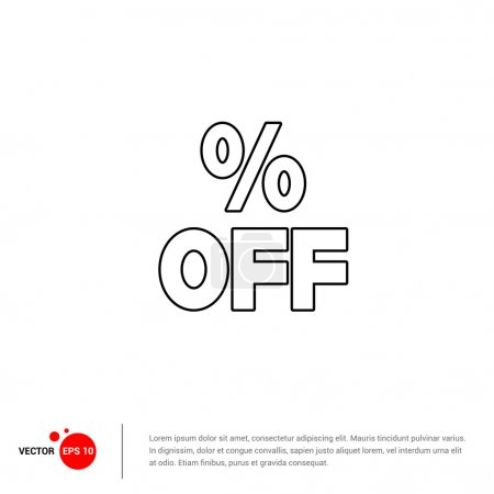 Percent Off Sale icon