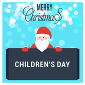 Santa Claus rajzfilmfigura betöltő Board