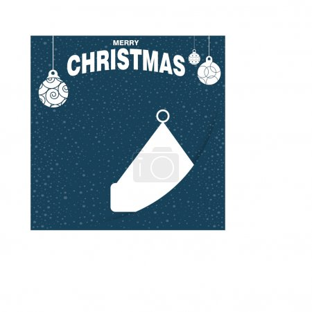 Christmas decorative template
