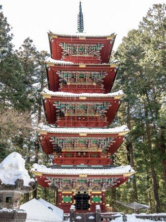 Pagoda at Toshogu shrine, Nikko
