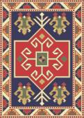 Vector for handmade rug and carpet knot