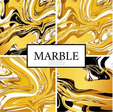 Marble gold texture background