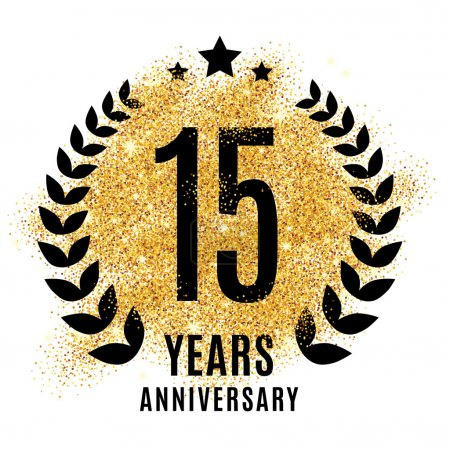 fifteen years golden anniversary