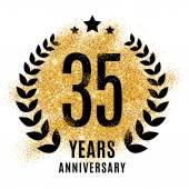 thirty five years golden anniversary