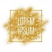 Gold blur background glitter
