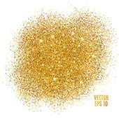 Gold glitter background sparkles