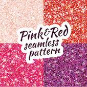 Pink purple red sparkles glitter background
