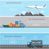 transportation infographics element