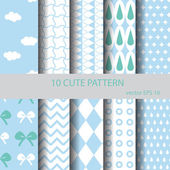 sweet and cute pattern set