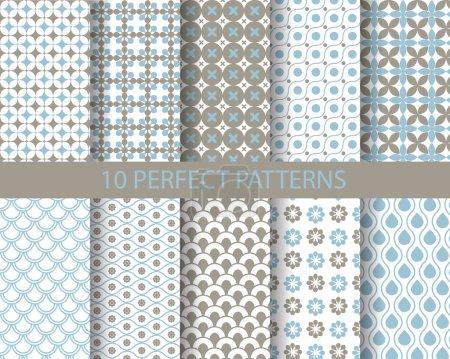 10 cute geometric patterns