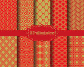 10 different chinese pattern