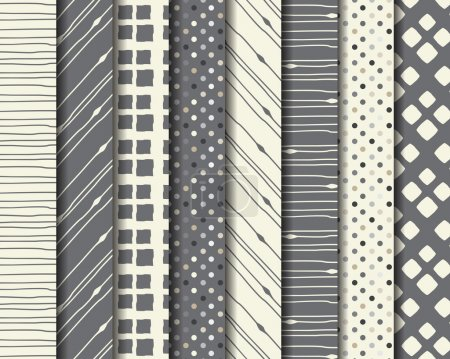 Abstract linear pattern