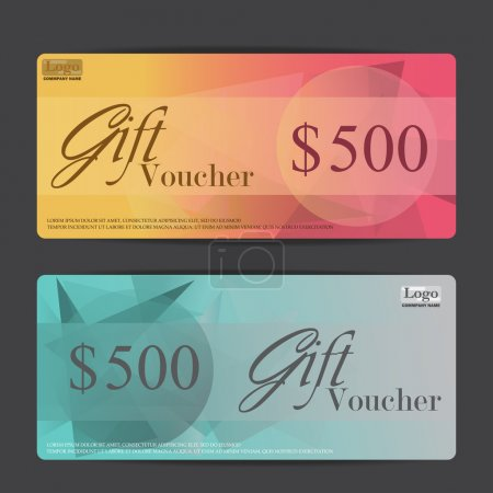 Gift vouchers and certificates