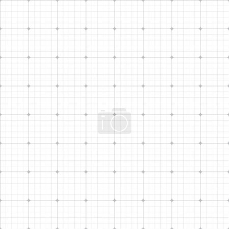 Illustration for Grid paper seamless pattern. Endless texture can be used for wallpaper, pattern fills, web page background,surface textures. - Royalty Free Image