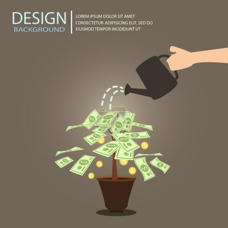 investment design infographics, vector