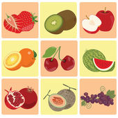 red green fresh fruit icon     Image ID:252060919     Copyright: piixypeach  Select a License & Format Standard License Enhanced License      Large print or outdoor advertising with circulation/viewership over 500000     Usage in merchandise cl