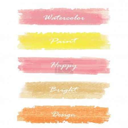 Light pink yellow love pastel banner in valentine's day