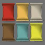 Blank Packaging mock up 3D
