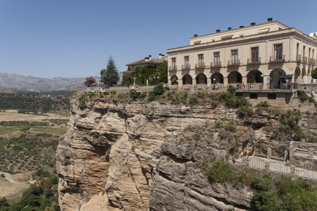 Villages in the province of Malaga, Ronda and its streets