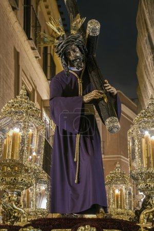 Foto de Imagen de Jesús la procesión del gran poder en Sevilla - Imagen libre de derechos