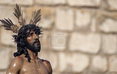 Foto de Imagen de Jesús despojado Semana Santa en Sevilla - Imagen libre de derechos