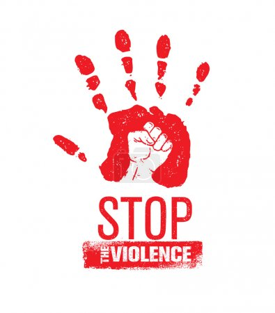 Stop Domestic Violence Stamp.