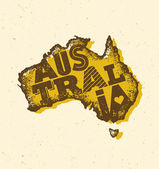 Australia Continent Shape