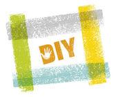 Do It Yourself Creative Vector Design Element