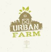 Urban City Farm Eco Concept