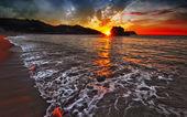 Mírové písečná pláž