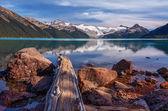 Brilliant mountain lake