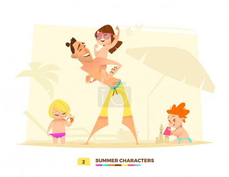 Summer characters. Time to play.