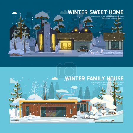 Two familys houses