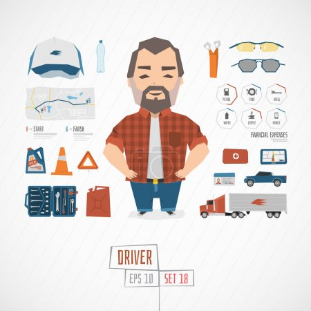 Funny Character driver