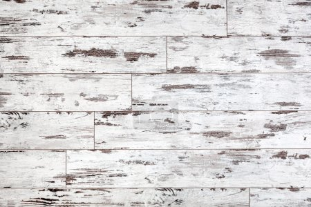 White weathered wooden texture